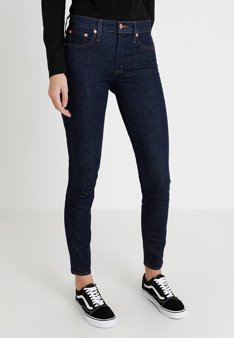 J.CREW TALL - TOOTHPICK - Slim fit jeans - dark blue