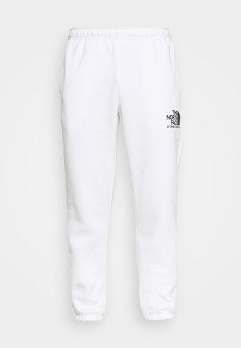COORDINATES PANT - Trainingsbroek - white