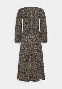 ONLY Tall - ONLZILLE SMOCK MIDI DRESS - Day dress - black - 1