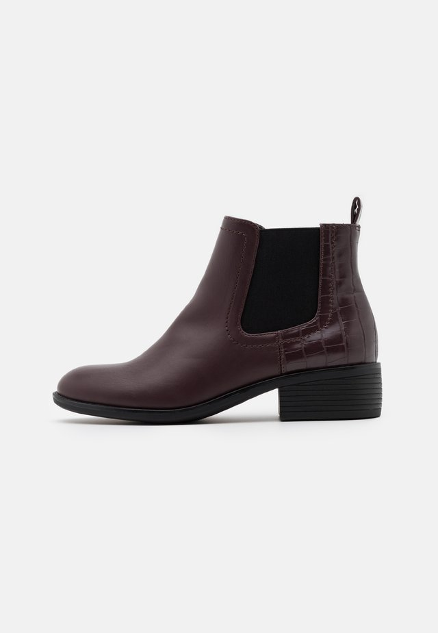 MAPLE CHELSEA - Ankle boots - burgundy