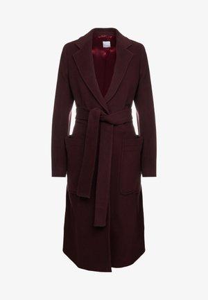 OCASHMY - Classic coat - ruby