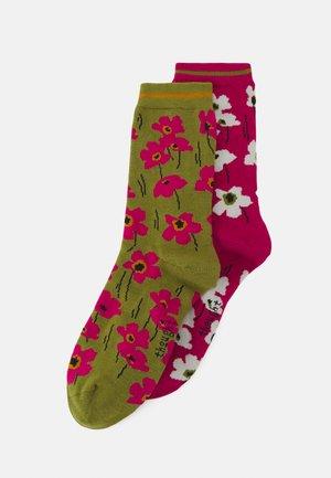 PEGGIE FLORAL SOCK 2 PACK - Socks - multi