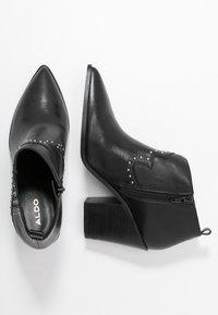 ALDO - PRAUCLYA - High heeled ankle boots - black - 3