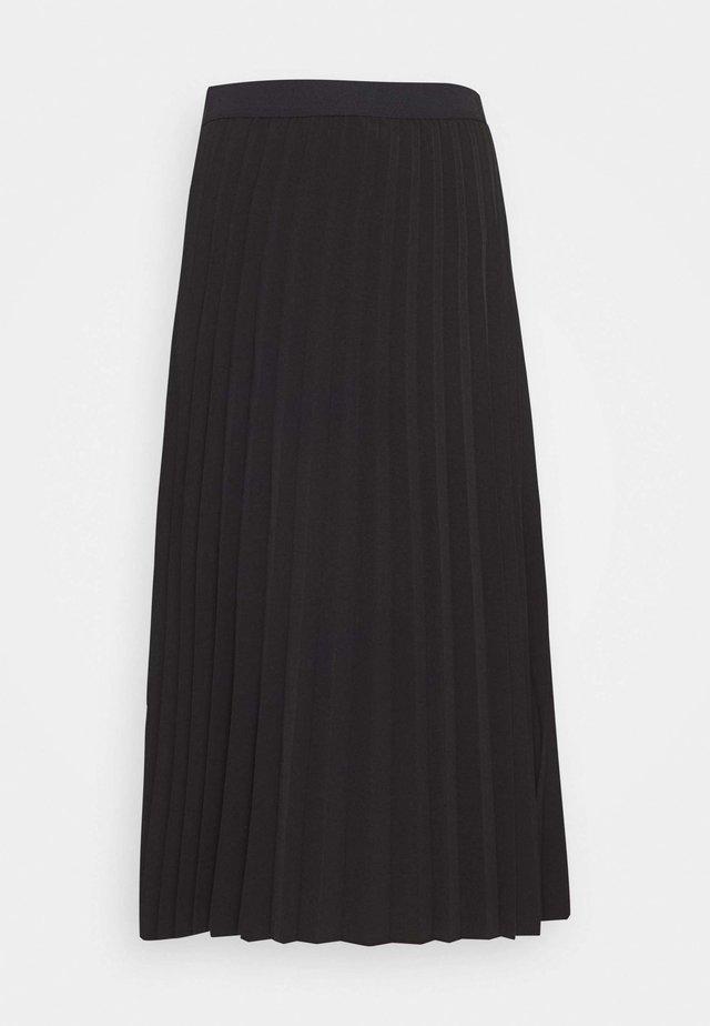 RICCA - A-line skirt - black