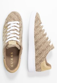 Guess - RIDERR - Trainers - beige/brown - 3