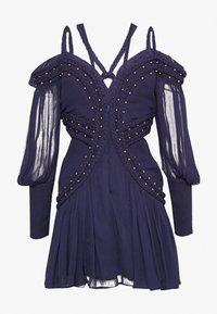 Thurley - MOON RIVER MINI DRESS - Koktejlové šaty/ šaty na párty - black iris - 1