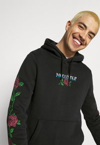 Hollister Co. - THRIFTED PRINT - Hoodie - black - 3