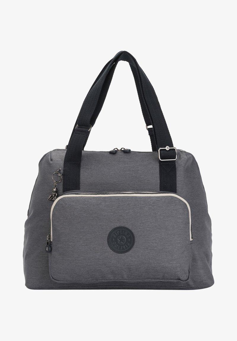 Kipling - PEPPERY LENEXA - Handbag - charcoal