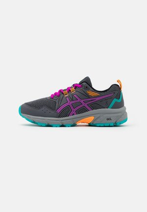 GEL-VENTURE 8 UNISEX - Trail running shoes - carrier grey/orchid
