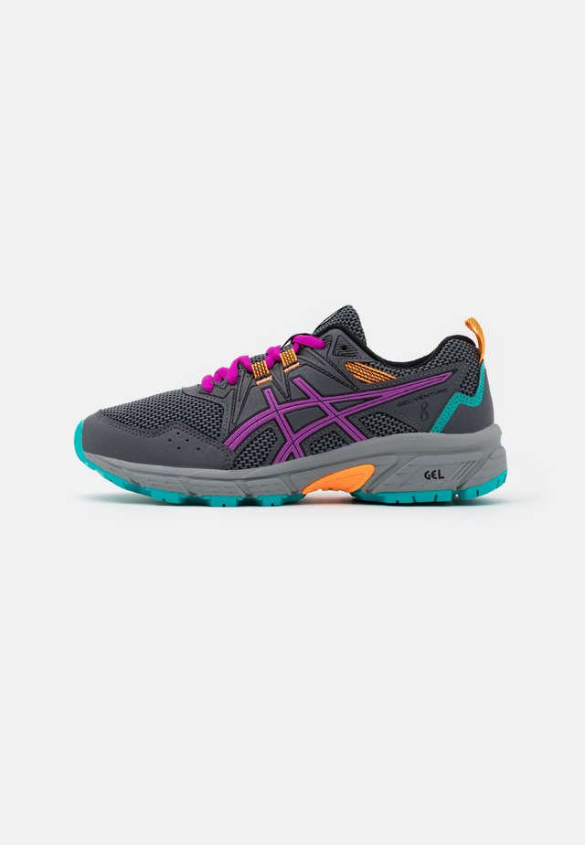 GEL-VENTURE 8 UNISEX - Scarpe da trail running - carrier grey/orchid