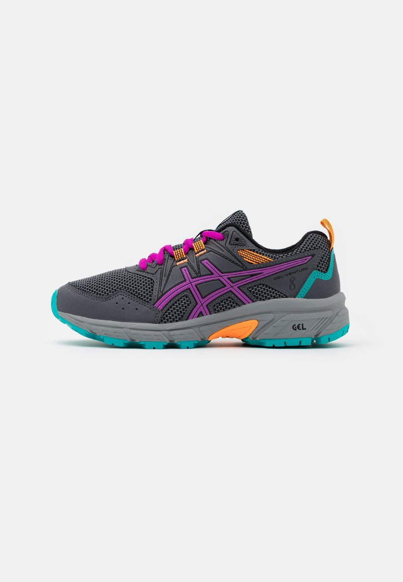 ASICS - GEL-VENTURE 8 UNISEX - Trail running shoes - carrier grey/orchid