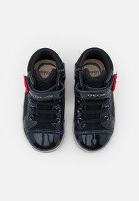 Geox - KILWI GIRL - Sneakers hoog - dark navy - 3