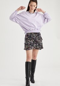 DeFacto - Mini skirt - purple - 1