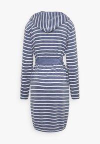 Schiesser - Dressing gown - jeansblau - 1