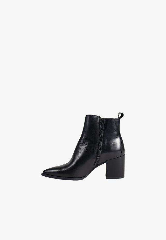 VIRA - High heeled ankle boots - black