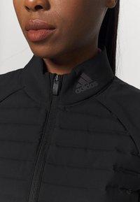 adidas Golf - PERFORMANCE SPORTS GOLF FILLED VEST - Vesta - black - 6