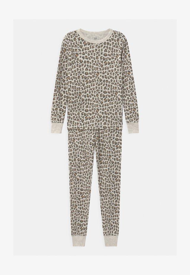GIRLS SET - Pyjamas - oatmeal heather