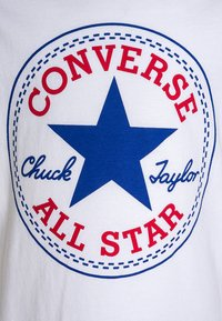 Converse - CHUCK PATCH - T-shirt imprimé - white - 2