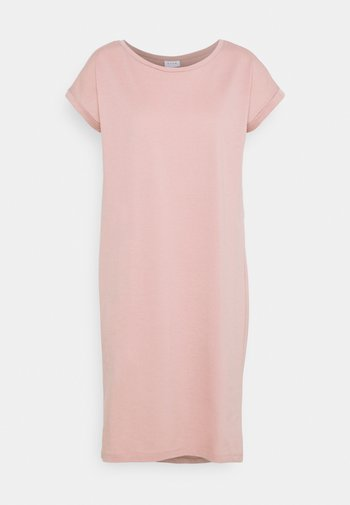 VIDREAMERSKNEE DRESS - Vestido ligero - misty rose