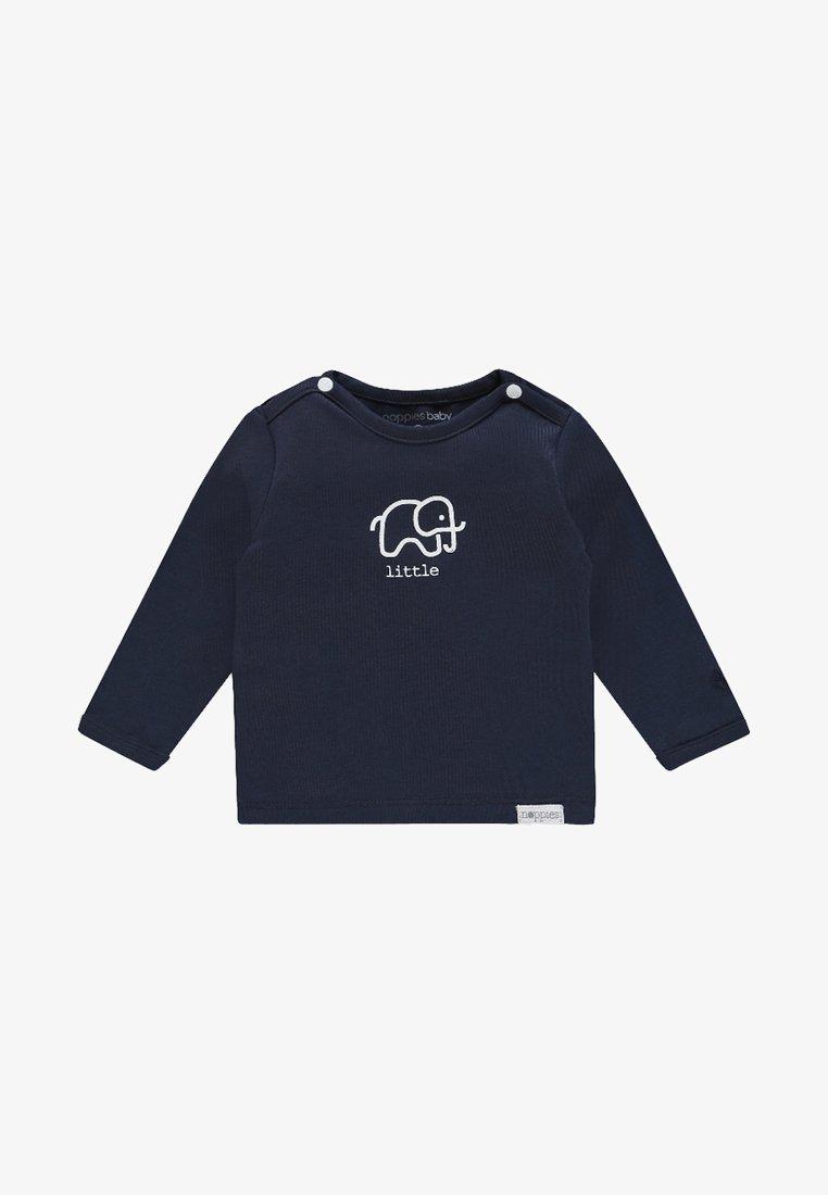 Noppies - LANGARMSHIRT AMANDA - Camiseta de manga larga - blue