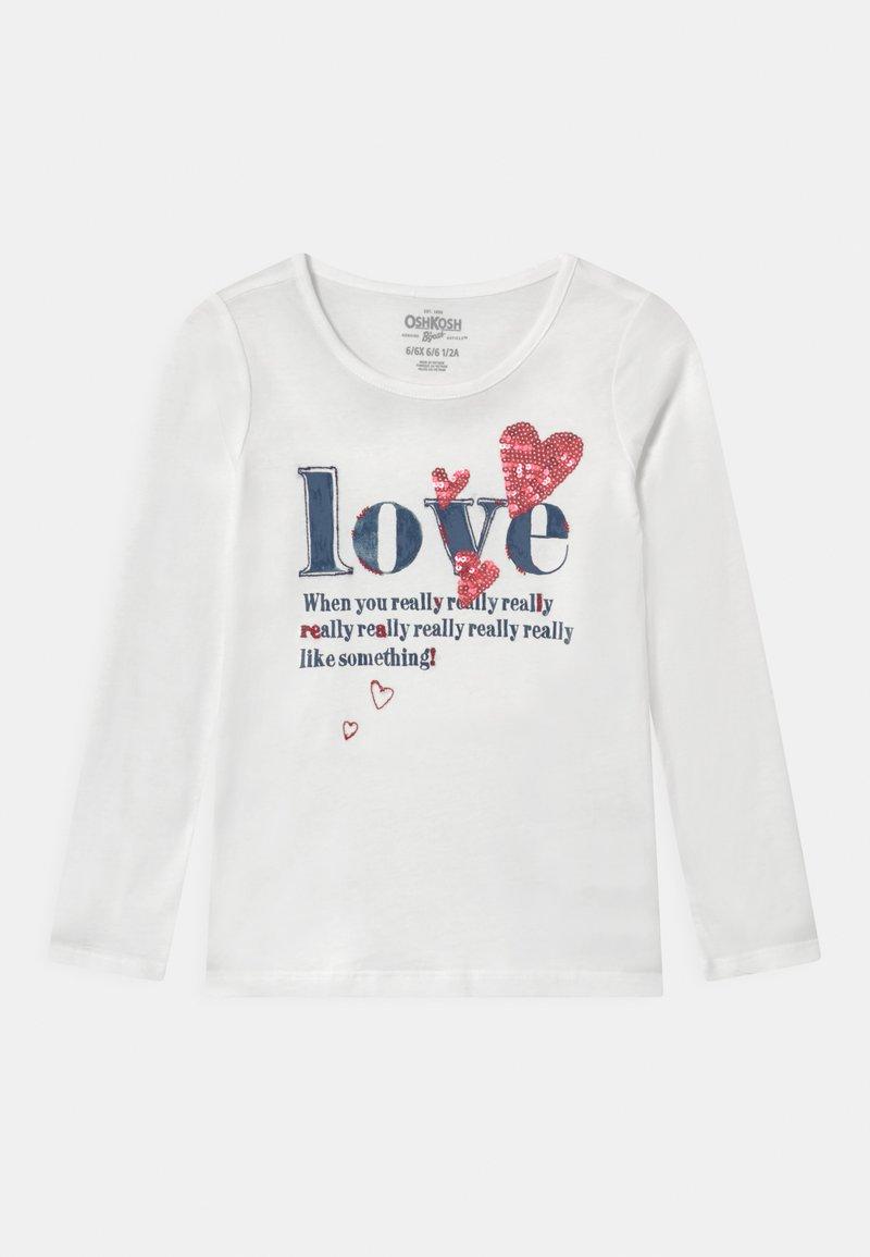 OshKosh - VDAY - Long sleeved top - white