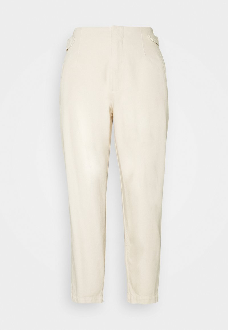 Marc O'Polo DENIM - PLEATED TROUSERS - Džíny Relaxed Fit - winter dune