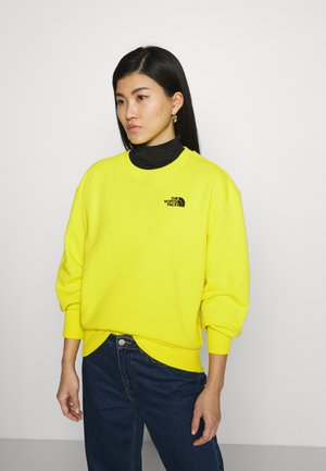 OVERSIZED ESSENTIAL CREW - Sweater - sulphur spring green