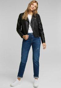 edc by Esprit - Faux leather jacket - black - 1