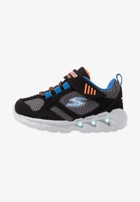 Skechers - MAGNA LIGHTS - Trainers - black/gray/orange/blue - 1
