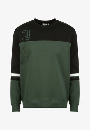 Sweater - sycamore / black / bright white