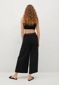 Mango - CEL - Trousers - noir - 2