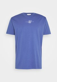 SIKSILK - SQUARE HEM TEE - Basic T-shirt - blue - 3