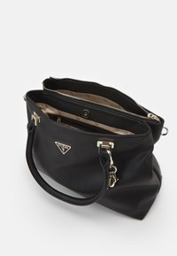 Guess - HANDBAG DESTINY SOCIETY CARRYALL - Handbag - black - 2
