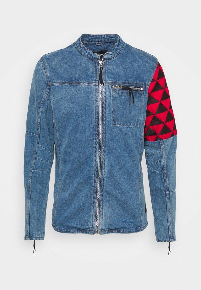 BORIS - Veste en jean - indigo mid