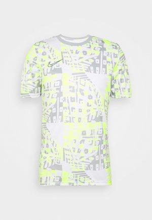 DRY ACADEMY  - T-shirt con stampa - white/ smoke grey