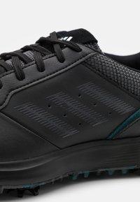 adidas Golf - SPIKED LACE - Golfschoenen - core black/grey six - 5