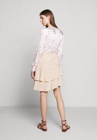 Bruuns Bazaar - LAERA DOLPHINE SKIRT - A-line skirt - sand - 2