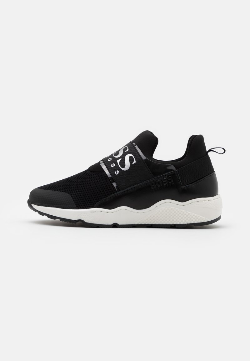 BOSS Kidswear - TRAINERS - Slip-ons - black