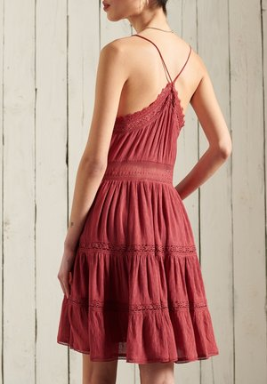 ALANA CAMI - Day dress - canyon rust