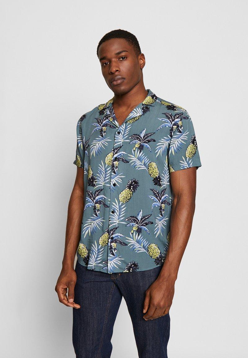 Solid - BRANDO CUBA TROPIC - Shirt - hedge gree
