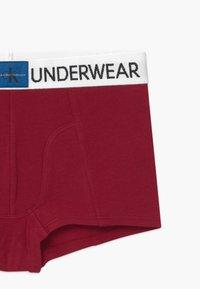 Calvin Klein Underwear - 2 PACK - Pants - red/mottled grey - 3
