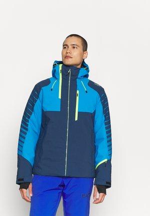 MAN JACKET FIX HOOD - Ski jacket - blue ink