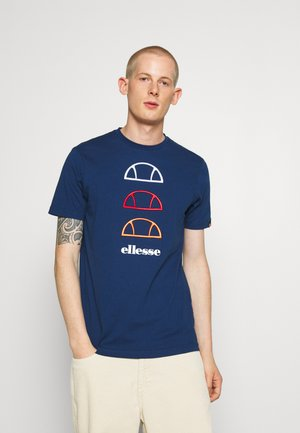 FEVER - Print T-shirt - navy