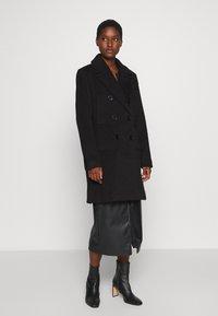 Culture - CUALEIA COAT - Classic coat - black - 0