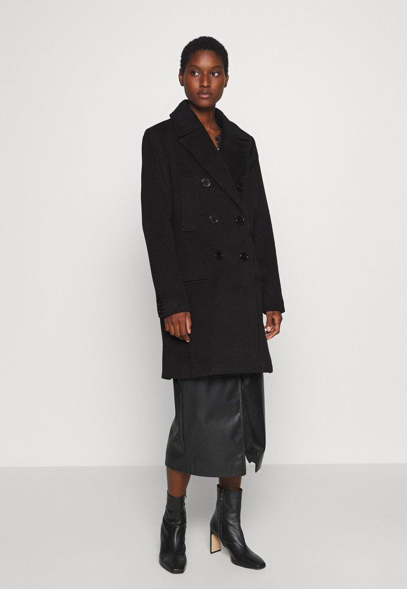 Culture - CUALEIA COAT - Classic coat - black