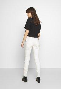 Mos Mosh - BRADFORD WORKED - Jeans Skinny Fit - white - 2