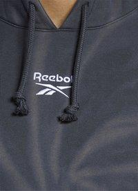 Reebok Classic - CLASSIC TIE DYE SEASONAL CASUAL HOODIE - Collegepaita - black - 3