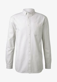 TOM TAILOR DENIM - MIT BRUSTTASCHE - Shirt - washed white - 6