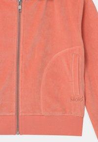 Molo - MILLA - Zip-up sweatshirt - burnt coral - 2