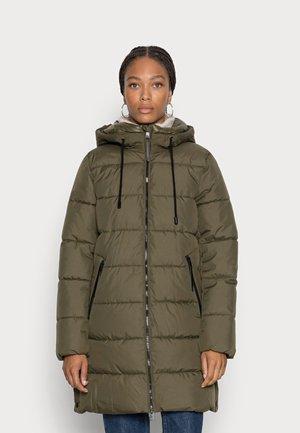 Winter coat - dark khaki